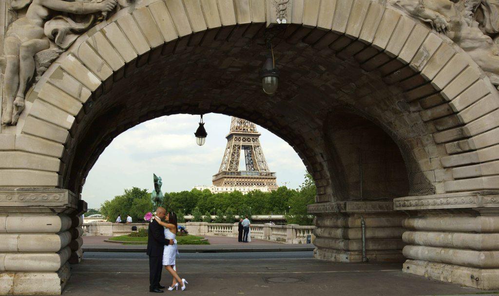パリの恋人たち  パリ